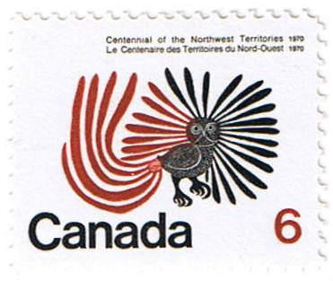 Stamp featuring The Enchanted Owl